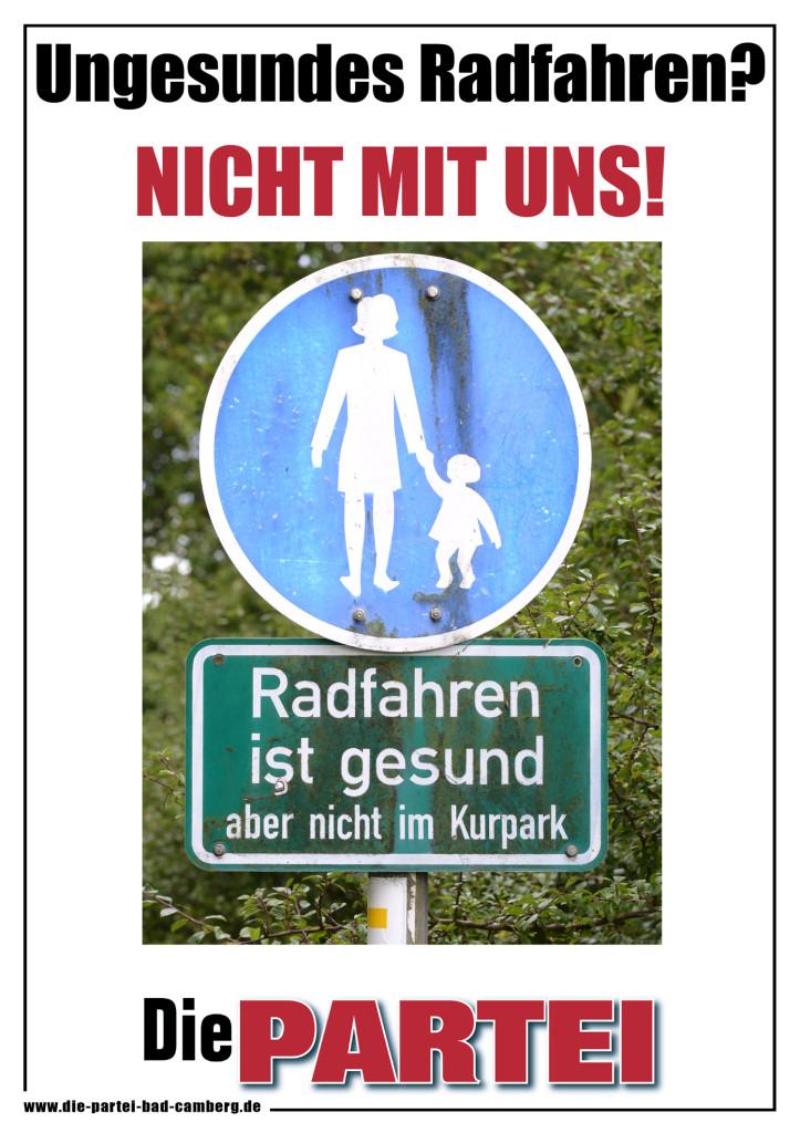 Poster-Radfahren