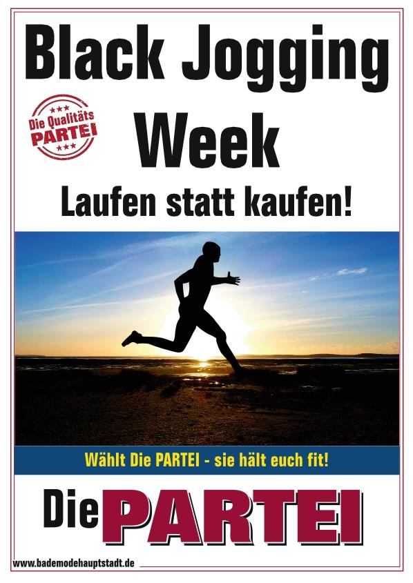 Plakat Die PARTEI Bad Rappenau Black Friday
