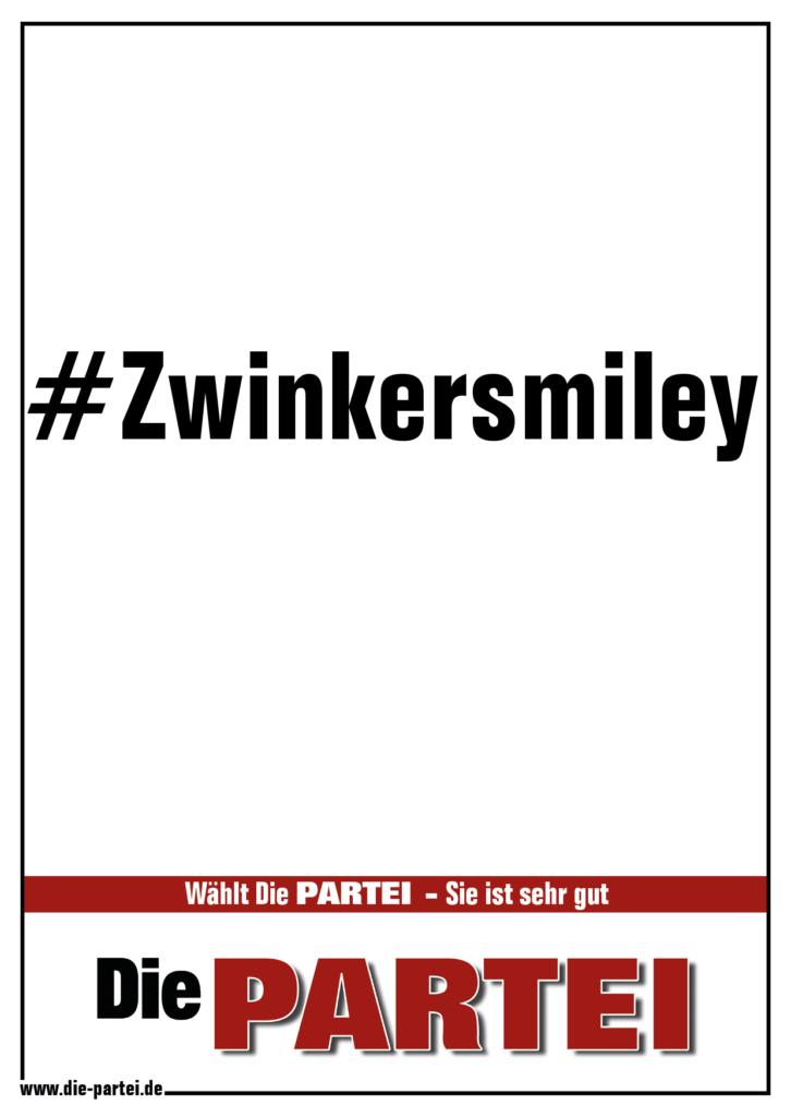 #Zwinkersmiley