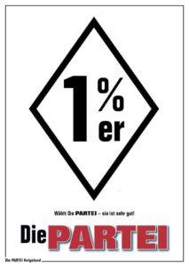 1%: Die PARTEI