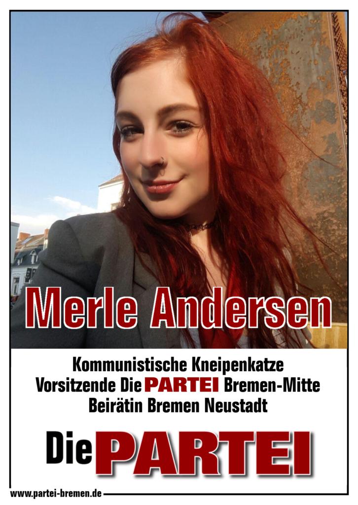 Merle Andersen - Große Vorsitzende und Beirätin