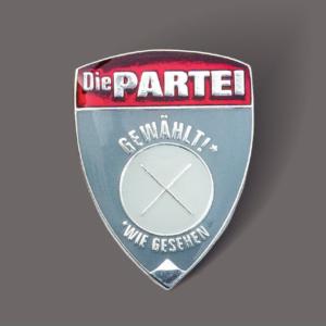 Die PARTEI - Mandatsträgerabzeichen Silber