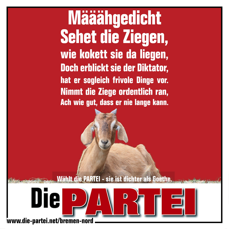 Ein Gedicht Die Partei Bremen Nord