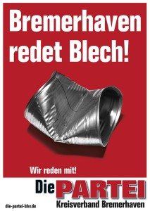 Bremerhaven redet Blech