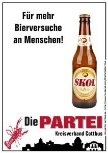 Für mehr Bierversuche an Menschen - CB kl
