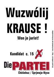 Krause wählen sorbisch