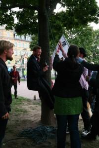 Direktkandidat Martin Hoferick hängt!
