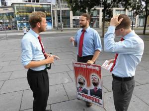 Unsere Direktkandidaten in Vorbereitung auf das nächste seriöse Wählergespräch