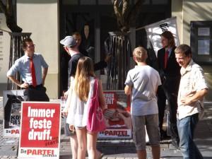 Wahlkampftipps junger Menschen aus der BRD