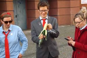 Kreisvorsitzender Karl Uhlmann voller Vorfreude