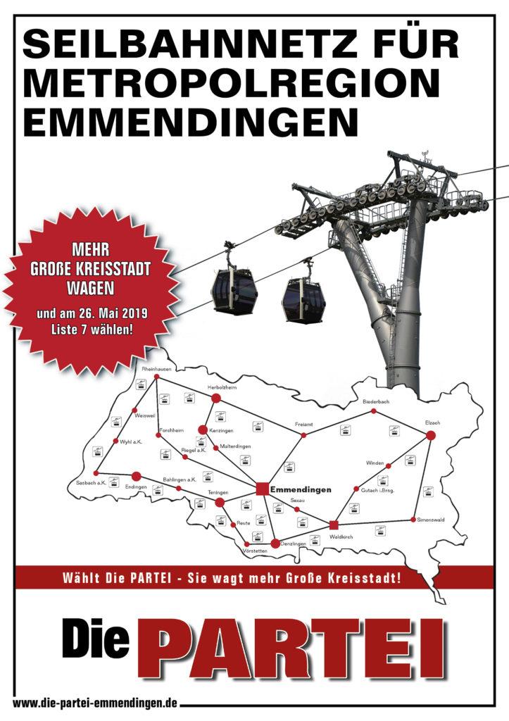 Seibahn für Metropolregion Emmendingen