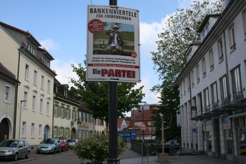 Bankenviertele für Emmendingen, Kommunalwahl 2019