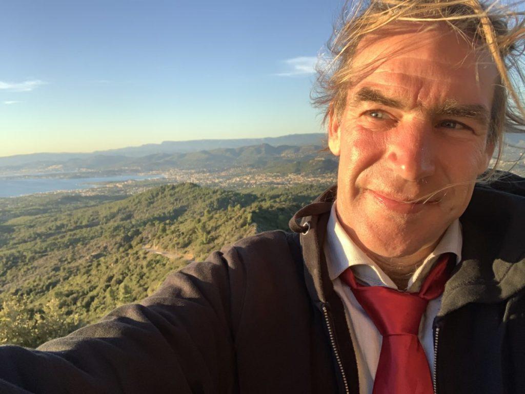 Stadtrat Andy Heidinger aufm Notre Dame du Mai in Six-Fours-les-Plages