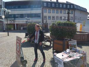 ihr gescheiterter Oberbürgermeister Kandidat in Emmendingen Heidinger, vor der Wahl schon das beste Ergebnis seit Kriegsende sicher gestellt. Krachende Wahlniederlage.