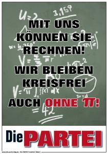DiePARTEI FFo Plakat Pi