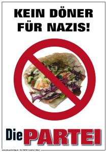 Kein Döner für Nazis