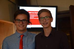 von links nach rechts: Jonas Martz, Louis Glöggler (beide Kreis GER)