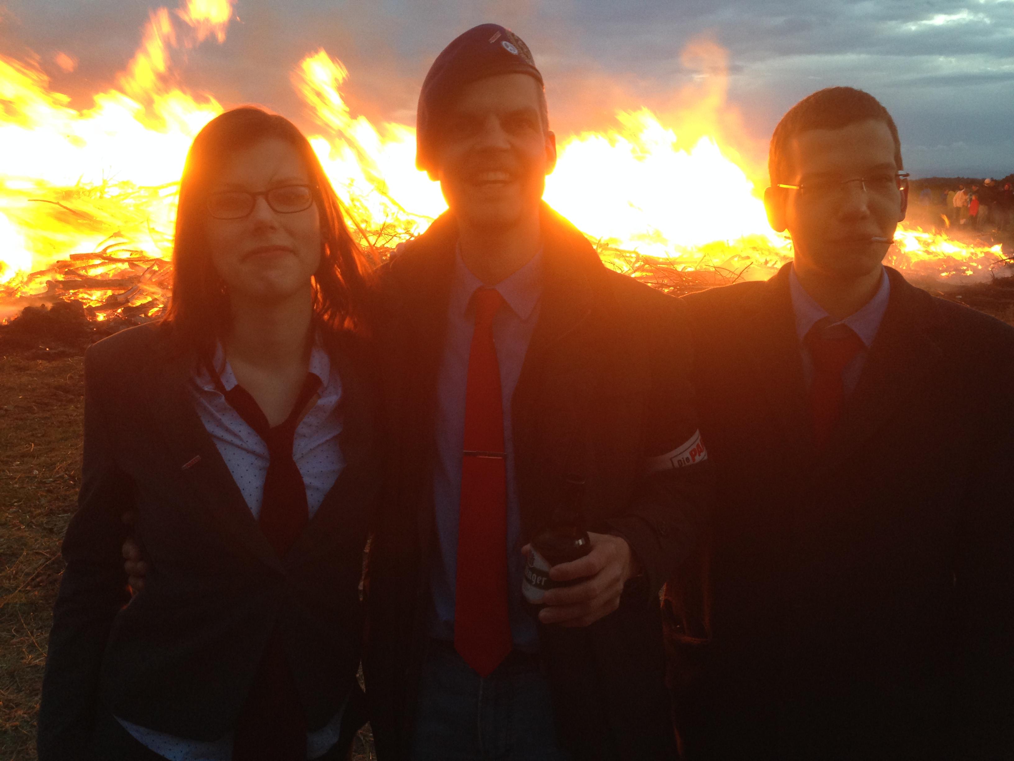 Kandidaten für eine brennende Zukunft | Die PARTEI Göttingen