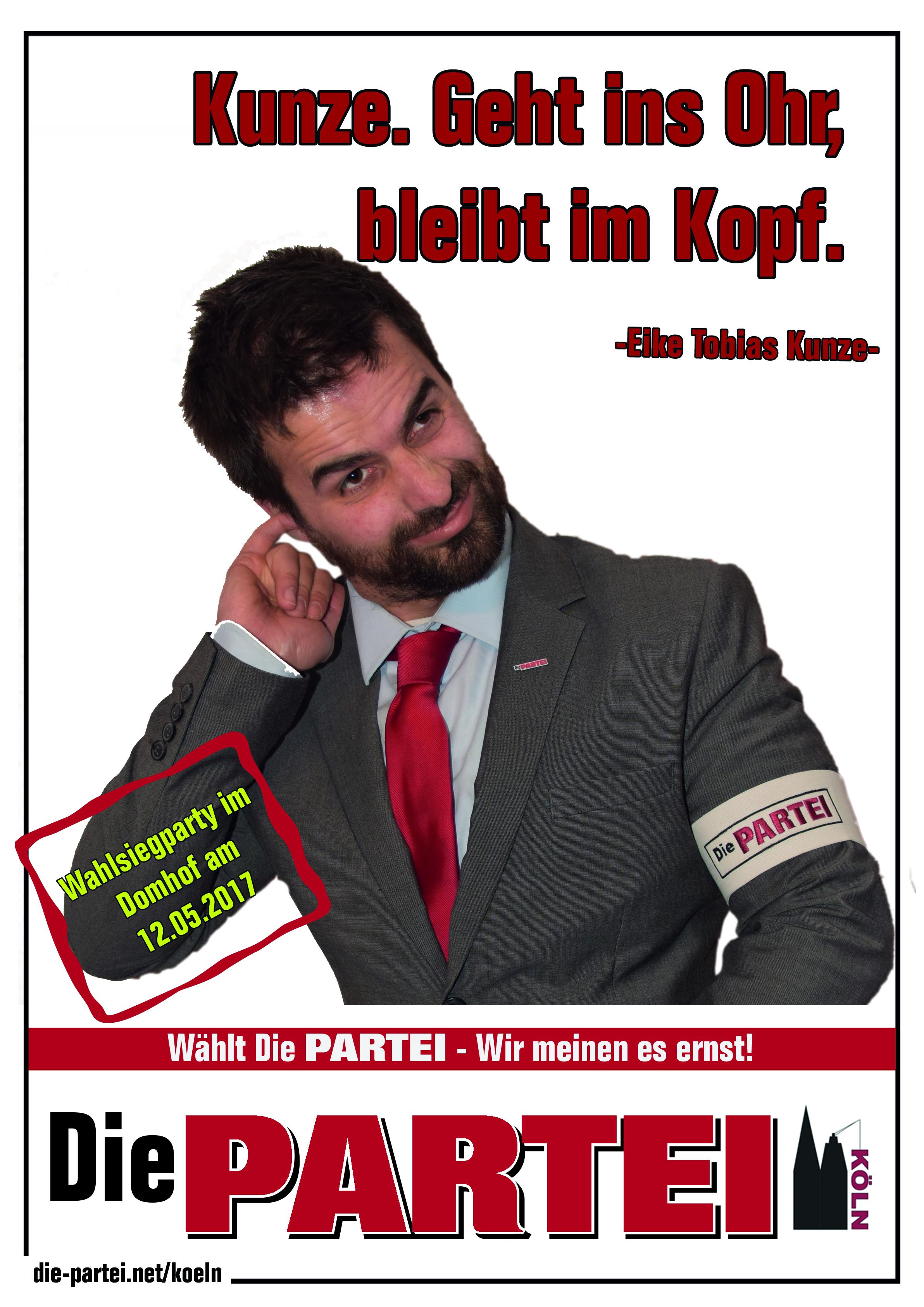 Propaganda | Die PARTEI Köln