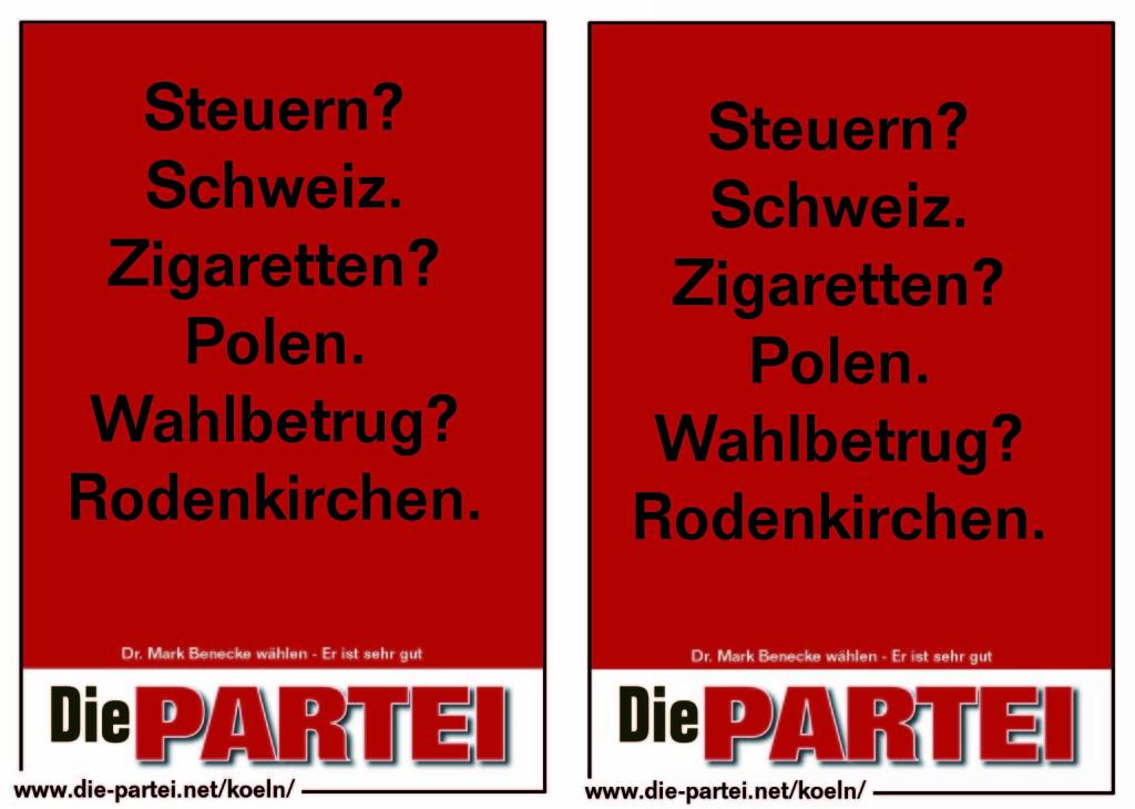 Wahlbetrug Rodenkirchen