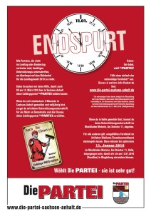 Endspurt-Flyer by Erwin M. Schuster