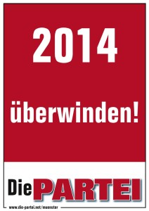 2014 überwinden!