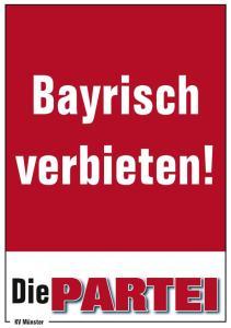 Bayrisch-verbieten