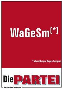 WaGeSm(Waschlappen-gegen-Smegma)