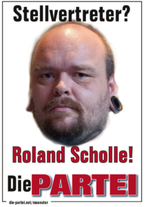 Roland Scholle, 2. Vorsitzender