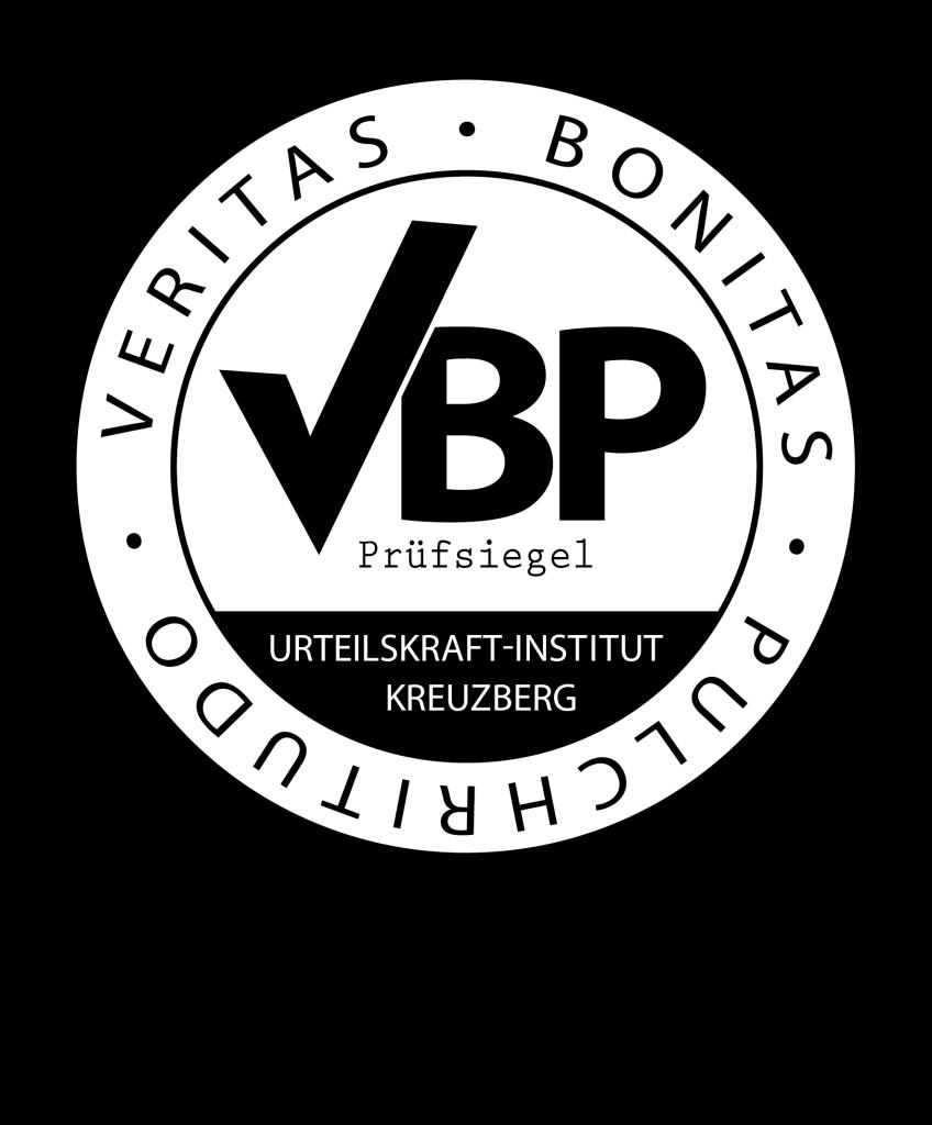 VBP-Prüfsiegel des Urteilskraft-Institut Kreuzberg