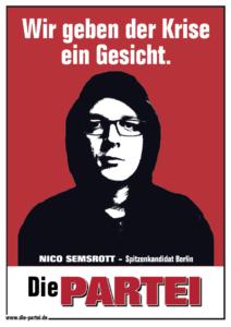 Nico Semsrott - Wir geben der Krise ein Gesicht