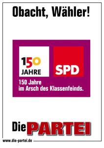 SPD im Arsch