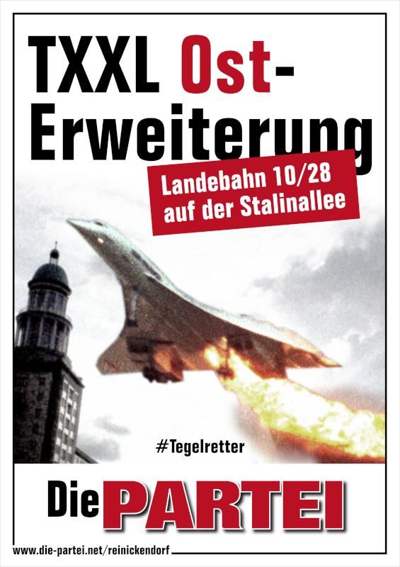 """Plakatmotiv: """"TXXL Ost-Erweiterung"""""""
