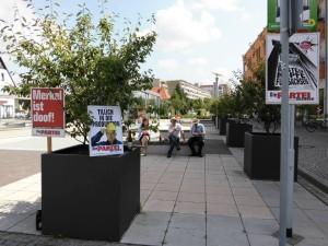 Gute Plakate ersparen im Wahlkampf die manpower.