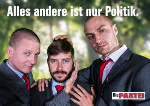 Die Berliner Spitzenkandidaten und der Bürgermeisterkandidat in Schöneberg-Tempelhof. Verschieden erfolgreich.